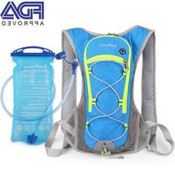 Cycling Bag Bike Hydration Backpack Water Bladder Running Hi