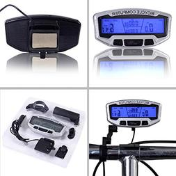 Fafada® Cycling Bike Bicycle Computer LCD Odometer Speedome