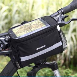 Cycling Bike Bicycle Front Basket Top Frame Handlebar Bag Pa