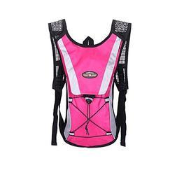 OCSOSO Cycling Hiking Backpack with 2L Water Bladder Bike Ba