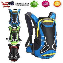 Cycling Rucksack Hydration 15l Bicycle Hiking Backpack Mount