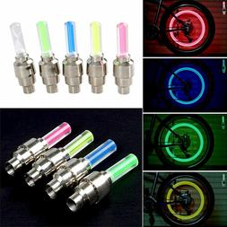 Cycling Safe Accessories LED Bike Wheel Lights Bicycle Valve