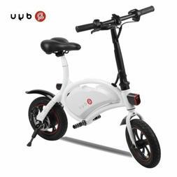 Dyu D1 Mini 12 inch Electric Bicycle E-Bike Cycling 30km/h F