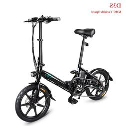 Fiido D3S 25KM/H 250W Variable Speed <font><b>Electric</b></