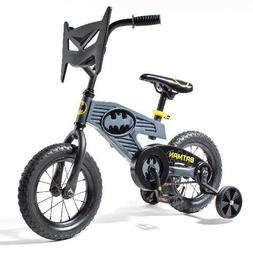 "DC Comics Batman 12"" Bike Child Boys Kids Toddler Bicycle Wi"