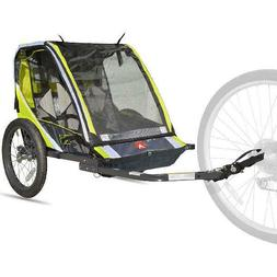 Allen Sports Deluxe 2-Child Bike Trailer Lightweight Durable