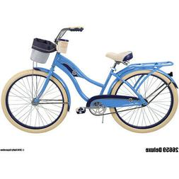 """Huffy Deluxe 26"""" Adult Classic Cruiser"""