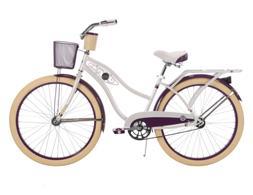 Women's 26 Inch Huffy Deluxe Cruiser Bike