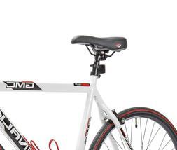 22.5' GMC Denali 700cc Men's Bike, White/Red