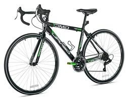 GMC Denali Road Bike, Black/Green, 20-Inch/Small
