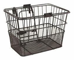 Detachable Front Wire Mesh Lift Off Bicycle Basket Weather P