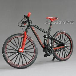 Diecast Metal Bicycle Model Toys 1:10 DH Down Hill Dual Slal