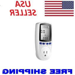 Digital Power Saving Energy Monitor Watt Amp Volt KWh Meter