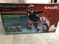 Razor Dirt Rocket 24V Electric Motocross Bike MX350 Pink