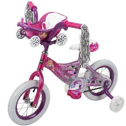 "HUFFY DISNEY PRINCESS 16"" BIKE w/ HANDLEBAR MAGIC MIRROR"