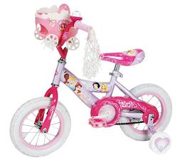 "Huffy Disney Princess Cruiser Bike 12"" With Doll Carrier - P"