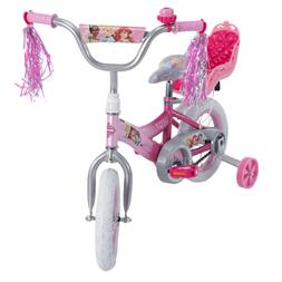 Disney Princess Girls' Bike with Royal Doll Carrier by Huffy