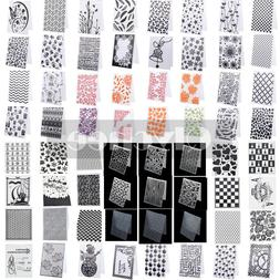DIY Silicone Clear Rubber Stamps Seal Plastic Embossing Fold