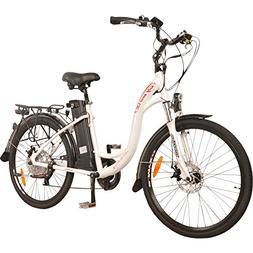 DJ City Bike 750W 48V 13Ah Power Electric Bicycle, 7 Speed,