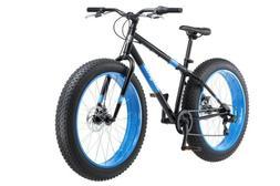 Mongoose Dolomite Mens Fat Tire Mountain Bike 26-Inch Wheels