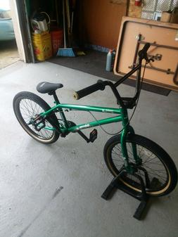 Haro Downtown Freestyle Bmx Bike Metallic Green Perfect Cond