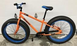 Mongoose Dozer 26in Fat Tire Bike!