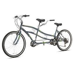 Kent Dual Drive Tandem Comfort Bike 26in Blue Cycling Equipm
