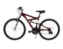 Huffy Bicycle Company Men's Dual Suspension DS-3 Bike, Dark