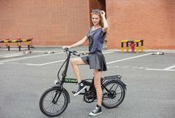"""NAKTO e-BIKE Foldable Electric Bicycle 20""""FASHION"""