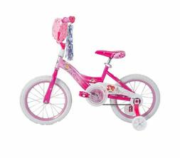 "Easy Build 16"" Disney Princess Girls' Bike with Training Whe"