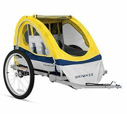 Schwinn Echo Kids/Child Double Tow Behind Bicycle Trailer, 2