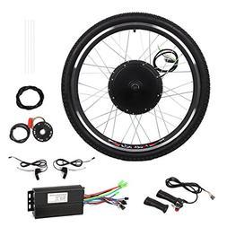 "48V Electric Bicycle Bike Motor Conversion Kit 1000W 26"" Rea"