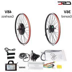 Electric Bicycle Motor Conversion Kit Front Rear Wheel E Bik