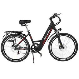 ANCHEER Electric Bike, 26 Inch Electric Commuter Bicycle wit