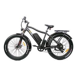 Breeze Electric Bike Fat Tire Electric Mountain Bicycle The