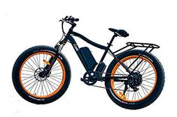 Breeze Electric Bike Fat Tire- Ebike, Mountain Bicycle: High