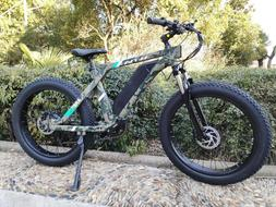 Electric Bike Hunting Fishing Beach Electric Mountain Bicycl