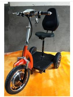 Electric bike outdoor mini 3 wheel electric bicycle collapsi