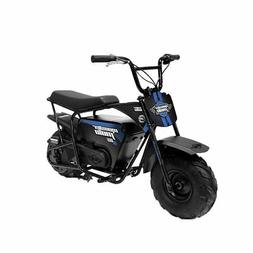 Monster Moto Electric Mini Bike 1000 Watts - Black with Blue