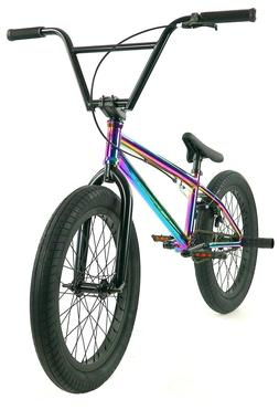 "Elite 20"" BMX Destro Bicycle Freestyle Bike 3 Piece Crank Ne"