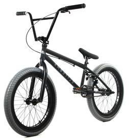 "Elite 20"" BMX Destro Bicycle Freestyle Bike 3 Piece Crank Bl"