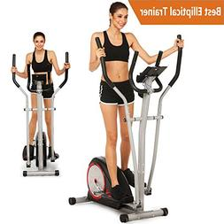 Tomasar Elliptical Exercise Machine Magnetic Smooth Quiet Dr