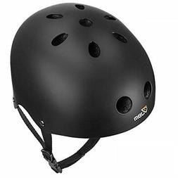 JBM EPS foam Skateboard Helmet Black Large Skate Skateboardi