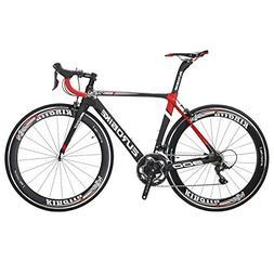EUROBIKE EUR900 50CM Carbon Frame Road Bike 18 Speed 700C Ra