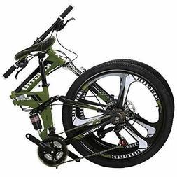 Kingttu EURG6 Mountain Bike 26 Inches 3 Spoke Wheels Dual Su
