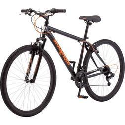 """24"""" Mongoose Excursion Girls' Mountain Bike, Black/Pink"""