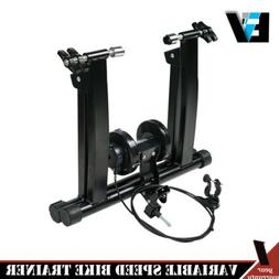 Exercise Bike Bicycle Trainer Stand 7 Levels w/ Resistance S