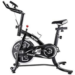Merax Exercise Bike Indoor Stationary Cycling Bike Fitness T