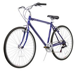 XDS Men's Explorer CT 7-Speed 20-Inch Road Bicycle, Blue