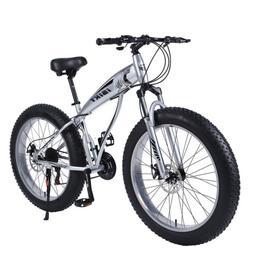 Fat Tire 21 Speed Snow Beach Mountain Bike Bicycle  26 inch